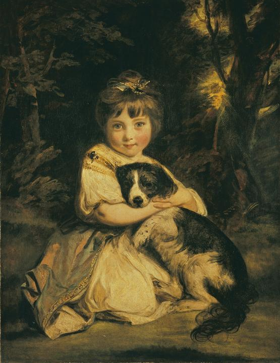 Joshua Reynolds, Miss Jane Bowles, 1775, Wallace Collection, Londres