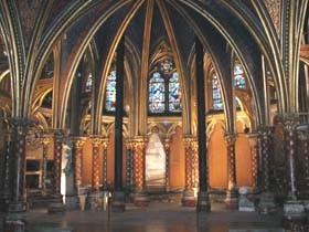 La salle basse de la Sainte Chapelle (Paris)