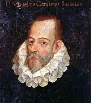 Portrait imaginaire de Cervantes attribué à son ami Juan de Jáuregui