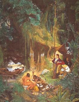 Keller, Humboldt et Bonpland sur l'Orenoque