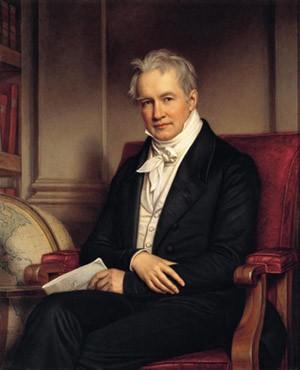 J. Stieler , Alexandre de Humboldt