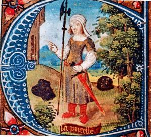 25 février 1429 Jeanne d'Arc rencontre le roi à Chinon Jeannedarc_bergere