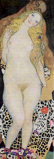 Portrait de femme, par Gustav Klimt