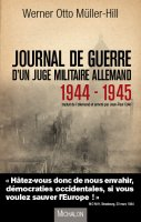 Journal de guerre d'un juge militaire allemand
