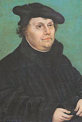 Portrait de Martin Luther, d'après Lucas Cranach L'Ancien