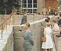 La construction du mur de Berlin