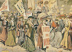 ça s'est passé un 21 Juin.. Suffragettes
