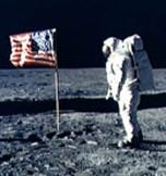 Buzz Aldrin photographié par Neil Armstrong, Apollo XI, DR.