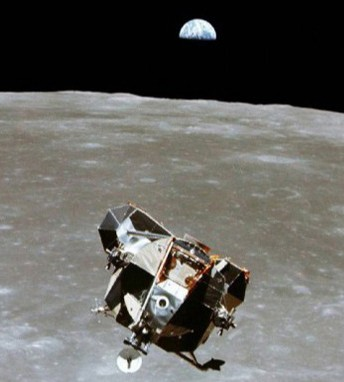 Le module lunaire d'Apollo XI, NASA, DR.