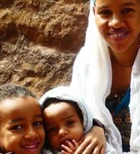 Des enfants éthiopiens à Lalibela, G. Grégor.