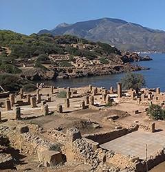Ruines romaines de Tipasa (Alger).