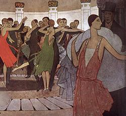 Paris la nuit, dans un dancing de Montmartre, Manuel Orazi, 1927.