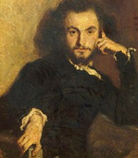 Émile Deroy, Charles Baudelaire, 1844, Versailles, châteaux de Versailles et de Trianon