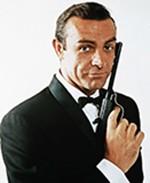 Sean Connery dans le rôle de James Bond