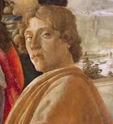 Sandro Botticelli, Autoportrait, 1475, Florence, galerie des Offices.