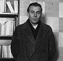 Céline lors de l'attribution du prix Renaudot à son roman « Voyage au bout de la nuit », 1932, Paris, BnF.
