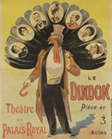 Affiche du Dindon de Georges Feydeau, 1896.
