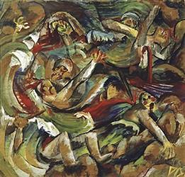 La Tranchée, 1918, Otto Dix, collection privée, DR.