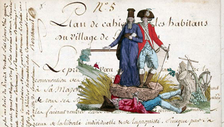 Cahiers de doléances                             .