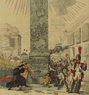 Allégorie sur le retour des ultraroyalistes en 1815, musée Carnavalet.