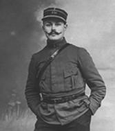 Maurice Genevoix dans son uniforme de soldat © Service historique de la Défense.