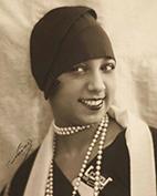 Photographie de Joséphine Baker, Nadar, 1930.