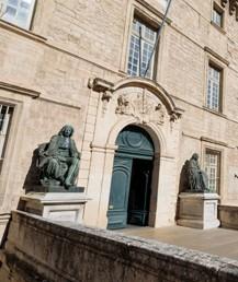 Entrée de la faculté de médecine de Montpellier