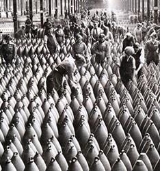 Munitionnettes fabricant des obus.