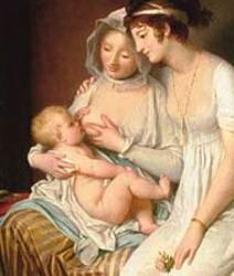 La Nourrice, Marguerite Gérard, 1802.