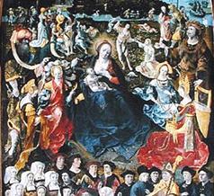 Pré ministrant pasture salutaire, confrérie du Puy (1520).