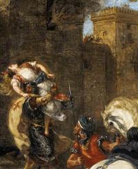 Rebecca enlevée par le templier (1858, Eugène Delacroix)