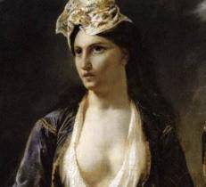 Les massacres de Scio, Eugène Delacroix, 1824.