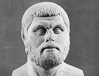 Portrait de Thémistocle au musée archéologique d'Ostie (Italie).