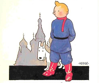 Tintin et Milou, Hergé (DR).