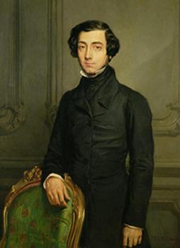 Alexis de Tocqueville (1805-1859), Théodore Chassériau, 1850, Château de Versailles.