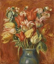 Auguste Renoir, Bouquet de tulipes, 1905, Pari, musée de l'Orangerie.