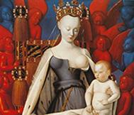 La Vierge de Melun.