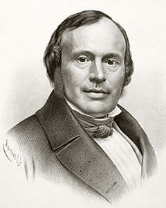 Louis Agassiz (Môtier, Suisse, 28 mai 1807 ; Cambridge, Massachusetts, 14 décembre 1873)