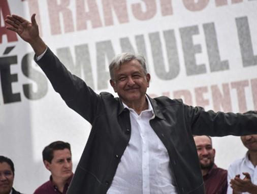Andrés Manuel Lopez Obrador, président de la République du Mexique.