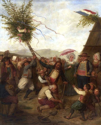 L'Abre de Mai, XIXe siècle, s.n., Mucem, Marseille.