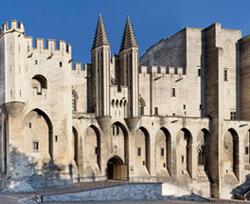 Le Palais des papes, Avignon.