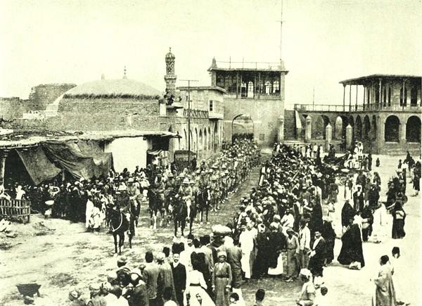1er juin 1941 : Les Britanniques à Bagdad . Bagdad-britanniques-1917