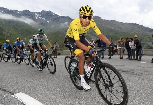 Egan Bernal, né le 13 janvier 1997 en Colombie, devient le 28 juillet 2019 le premier Sud-Américain à remporter le Tour de France, DR