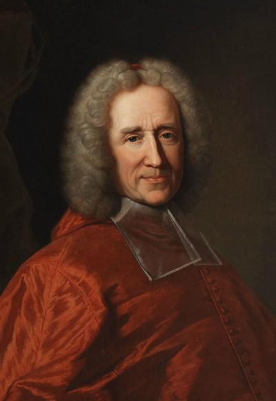 Portrait du cardinal Guillaume Dubois, archevêque de Cambrai, Hyacinthe Rigaud, XVIIIe siècle.