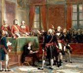 Installation du Conseil d'État au Palais du Petit-Luxembourg le 25 décembre 1799, Louis-Charles-Auguste Couder, 1856, Château de Versailles.