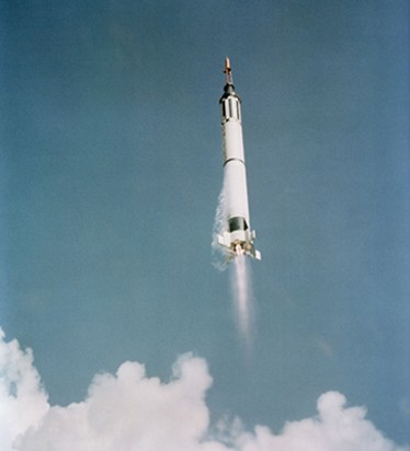 Lancement de la capsule Mercury Freedom 7, le 7 mai 1961, NASA, DR.