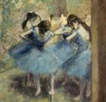 Les danseuses bleues, Edgar degas, 1890, Paris, musée d'Orsay.