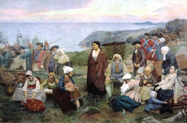 28 juillet 1755 - Le Grand Dérangement des Acadiens - Herodote.net