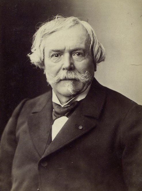 Edmond de Goncourt (Nancy, 26 mai 1822 ; Champrosay, 16 juillet 1896), photo de Nadar