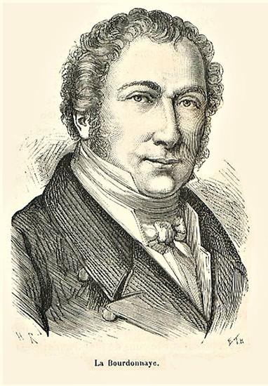 François-Régis de La Bourdonnaye, comte de La Bretèche, vers 1839, J.D. Dallet. Il fut brièvement ministre de l'Intérieur en 1829. En agrandissement, Jules de Polignac, École française, XIXe siècle.